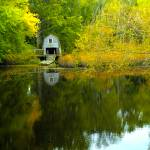 """The Old Boathouse, Concord"" by stephenmaxwell"