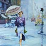 """The 1930s New York City"" by ArtByDianeKraudelt"