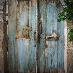 """Blue Door, Wooden and Dark"" by joshuaphotography"