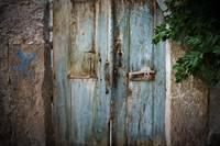 Blue Door, Wooden and Dark