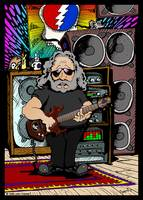 Jerry Garcia Cartoon