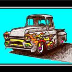 """KOOL 59 FLAME GMC"" by KOOLKARS"