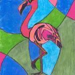"""""""Flamingo"""" by HolmansKrugArt"""
