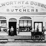 """HW126 Butcher Shop Nelson Pl. Williamstown"" by nevilleprosser"