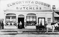 HW126 Butcher Shop Nelson Pl. Williamstown