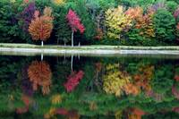 Colors Of Autumn  Loon Lake Newport New Hampshire