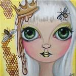 """Queen Bee"" by artbyjaz"