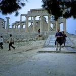 """Temple of Aphaia, Aegina, Spring Evening 2003 12"" by PriscillaTurner"