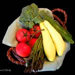 """Vegetable Basket"" by SandiOReilly"