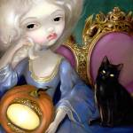 """Les Vampires: Lanterne-Citrouille"" by strangeling"