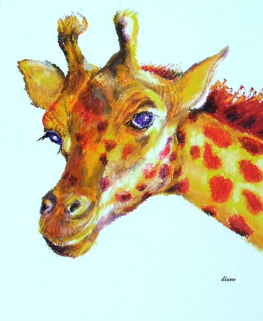 Stunning Quot Giraffes Quot Oil Pastel Drawings And Illustrations