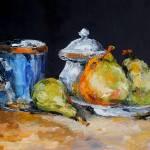 """Blue Cup"" by ArtByDianeKraudelt"