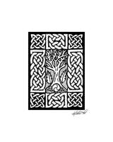 Celtic Knotwork Bare Branches