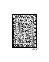 Celtic Knotwork Card Spiral