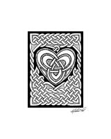 Celtic Knotwork Heart