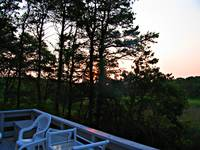 CAPE COD DECK SUNRISE