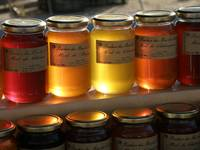Glowing Honey Jars