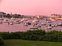 HARWICH MASSACHUSETTS, WYCHEMERE HARBOR SUNRISE
