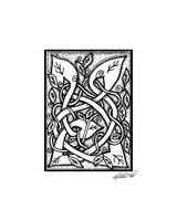 Celtic Entwined Vines