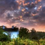 """""""Sunset Sky on Autumn Equinox by Jim Crotty"""" by jimcrotty"""