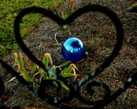I found my gazing ball, it was in my heart all the