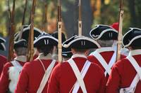 Battle of Great Bridge Red Coats