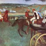 """Edgar Degas Amateur Jockeys On The Course"" by oldies"