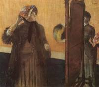 Edgar Degas At The Milliner's 2