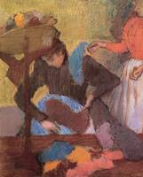 Edgar Degas At The Milliner's 3