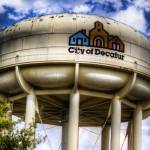"""Decatur Water Tower"" by thelowfive"