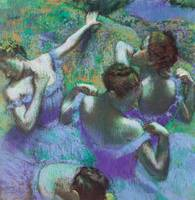 Edgar Degas Blue Dancers