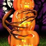 """""""Three Pumpkin Pillar"""" by jamiejrice"""