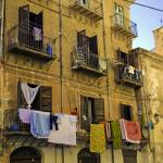 """Hanging out to dry in Palermo"" by madeline"