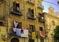 Hanging out to dry in Palermo