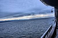 ALASKA INLAN PASSAGE SUNRISE