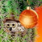 """""""Cactus Christmas"""" by jamiejrice"""