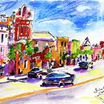 """Charleston Street Scene #1-  Painting by Ginette"" by GinetteCallaway"
