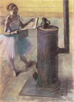 Edgar Degas Dancer Resting
