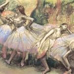 """Edgar Degas Dancers 1"" by oldies"