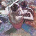 """Edgar Degas Dancers 2"" by oldies"