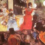 """Edgar Degas Cafe Concert at Les Ambassadeurs"" by oldies"