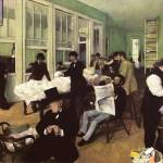 """Edgar Degas Cotton Market In The New Orleans"" by oldies"