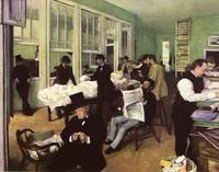 Edgar Degas Cotton Market In The New Orleans