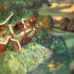 """Edgar Degas Four Dancers"" by oldies"