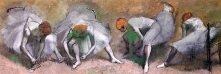 Edgar Degas Frieze of Dancers