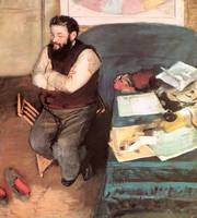 Edgar Degas Portrait of Diego Martelli