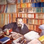 """""""Edgar Degas Portrait of Edmund Duranty"""" by oldies"""