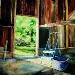 """""""Purple Bucket"""" by ArtByDianeKraudelt"""