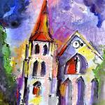 """Charlotte Street Church Charleston South Carolina"" by GinetteCallaway"