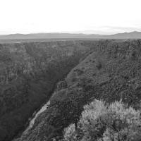 Rio Grande River Gorge 2 Art Prints & Posters by Johnette Meekins